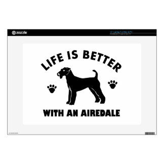 aredale terrier dog design laptop decal