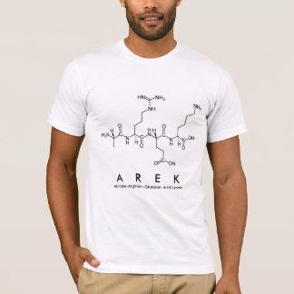Arek peptide name shirt