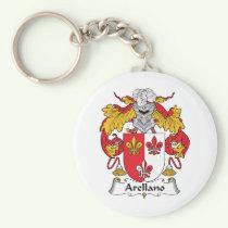 Arellano Family Crest Keychain