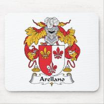 Arellano Family Crest Mousepad