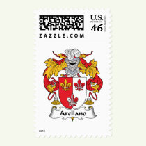 Arellano Family Crest Stamps
