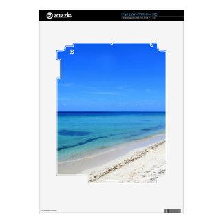 Arena abandonada del blanco del agua del trullo de skins para iPad 2