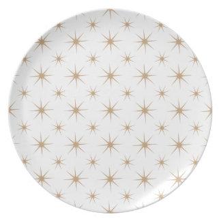 Arena de la estrella 5 plato de cena