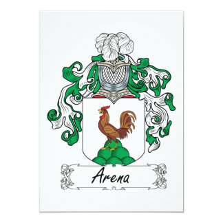 Arena Family Crest Card