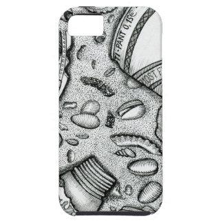 arena, fiesta, playa, cerveza, cáscaras del mar funda para iPhone SE/5/5s