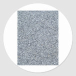 Arena gris o fondo concreto de la textura etiqueta redonda