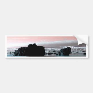 Arena pintada etiqueta de parachoque