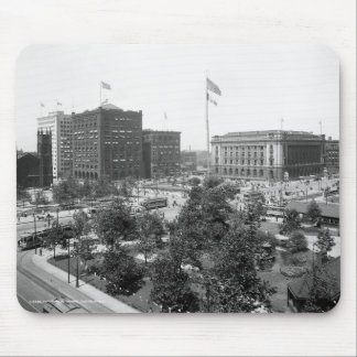 Arena pública, Cleveland: 1915 Tapetes De Ratones