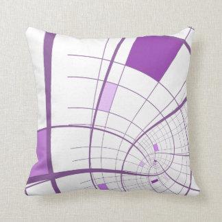 Arena púrpura de la lila su fondo cojín