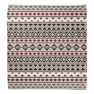 Arena roja gris blanca negra azteca de la esencia bandana