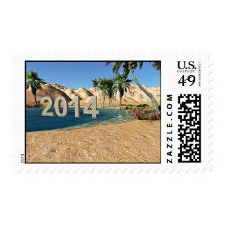Arena superventas temática sello postal