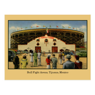 Arena Tijuana México de la lucha de Bull del Postales