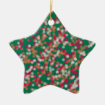 arena y estrella mágicas con color al azar ornaments para arbol de navidad