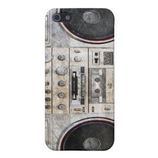 Arenador del ghetto de la escuela vieja iPhone 5 carcasa
