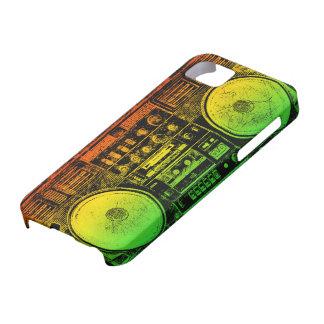 Arenador del ghetto de Rasta iPhone 5 Fundas