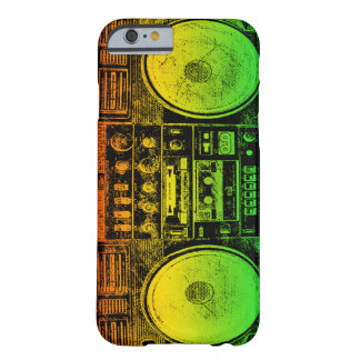 Arenador del ghetto de Rasta Funda De iPhone 6 Barely There