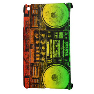 Arenador del ghetto de Rasta iPad Mini Fundas