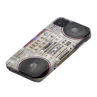 arenador del ghetto del vintage Case-Mate iPhone 4 carcasa