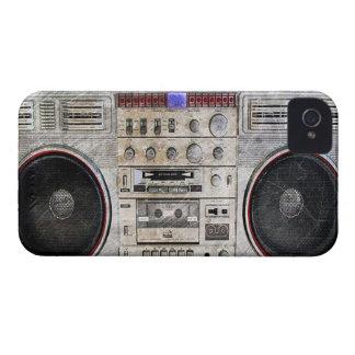 arenador del ghetto del vintage funda para iPhone 4 de Case-Mate