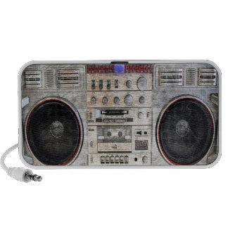 arenador del ghetto del vintage iPod altavoces