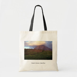 Arenal volcano, Costa Rica Budget Tote Bag