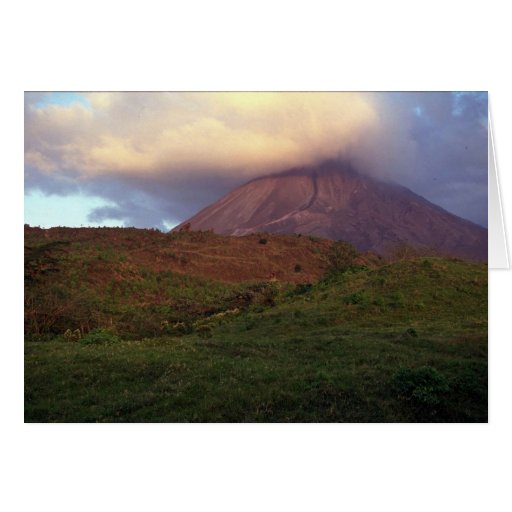 Arenal volcano, Costa Rica Greeting Card