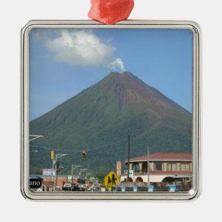ARENAL VOLCANO, Costa Rica Metal Ornament