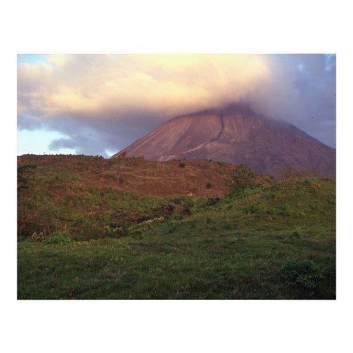 Arenal volcano, Costa Rica Personalized Flyer
