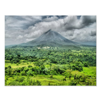 Arenal Volcano - Costa Rica Posters