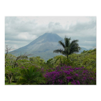 Arenal Volcano - Costa Rica Poster