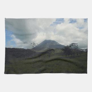 Arenal Volcano Hand Towel
