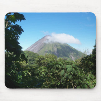 arenal volcano mouse pad