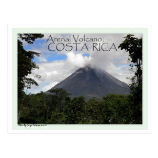 Arenal Volcano Postcards