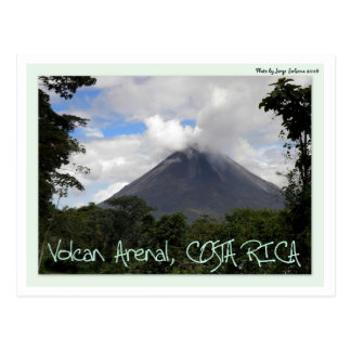 Arenal Volcano Post Cards