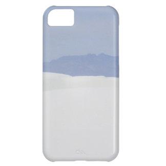 Arenas blancas carcasa iPhone 5C
