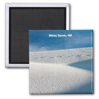 Arenas blancas, nanómetro imán cuadrado