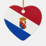 Arenas Del Rey, bandera de España Ornaments Para Arbol De Navidad
