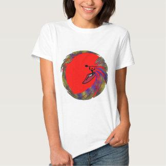 arenas del rojo del kajak camisas