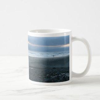 Arenas frías taza de café