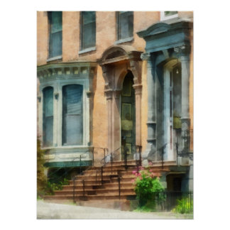 Arenisca de color oscuro de Albany NY Impresiones