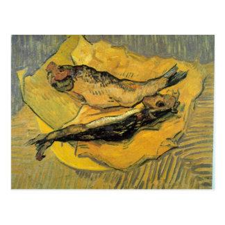 Arenques ahumados de Vincent Willem Van Gogh Postales