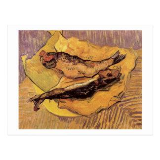 Arenques ahumados en el papel amarillo, Vincent Postal