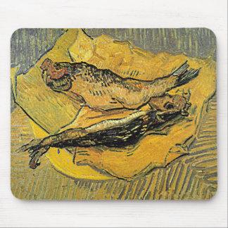 """Arenques ahumados"""" Mousepad de Van Gogh los """""""