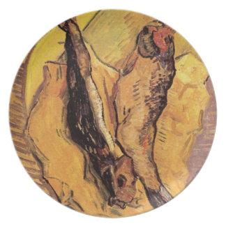 Arenques ahumados - pescados de Van Gogh Plato De Comida