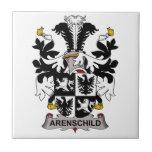 Arenschild Family Crest Tiles