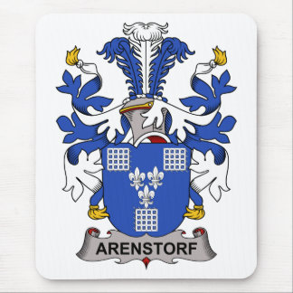 Arenstorf Family Crest Mouse Pad