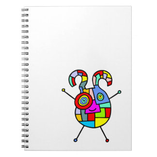 Aren't we all just a little autistic? spiral notebook
