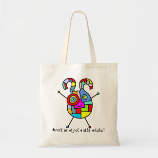 Aren't we all just a little autistic? tote bag