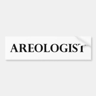 Areologist Pegatina Para Auto