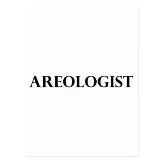 Areologist Postcard